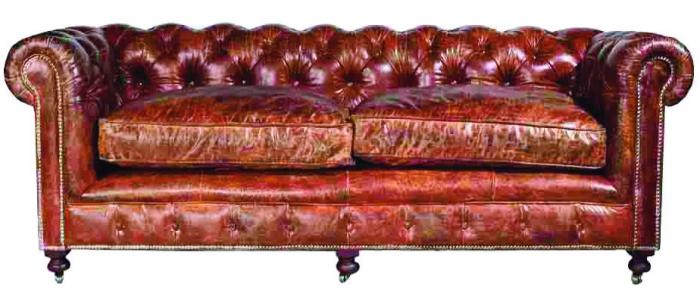 design ledersofa winston vintage 2 sitzer. Black Bedroom Furniture Sets. Home Design Ideas
