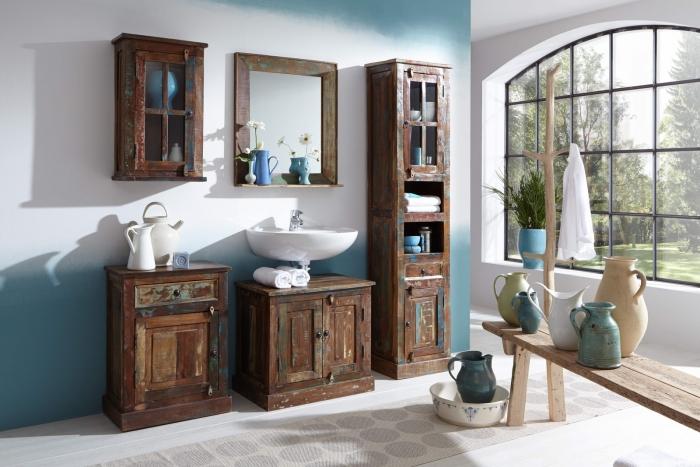 Badezimmer spiegel ocean landhaus vintage - Ausgefallene badmobel ...