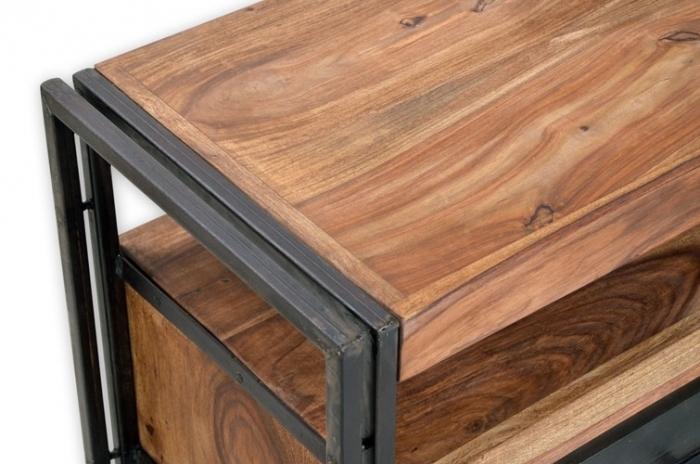 tv lowboard caribe industrial vintage landhaus. Black Bedroom Furniture Sets. Home Design Ideas