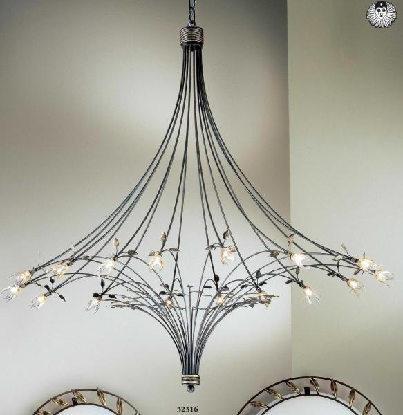 design kronleuchter millefoglie. Black Bedroom Furniture Sets. Home Design Ideas