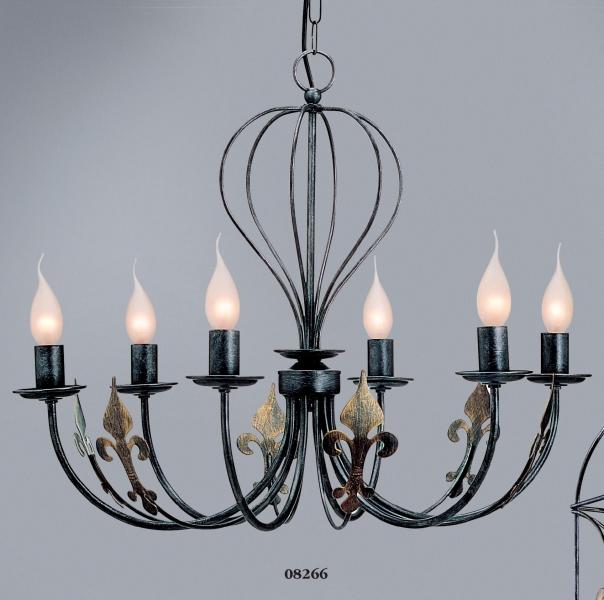 design kronleuchter castello 6 flammig. Black Bedroom Furniture Sets. Home Design Ideas