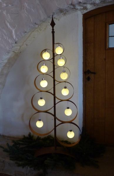 Baum zum dekorieren edelrost - Baum dekorieren ...