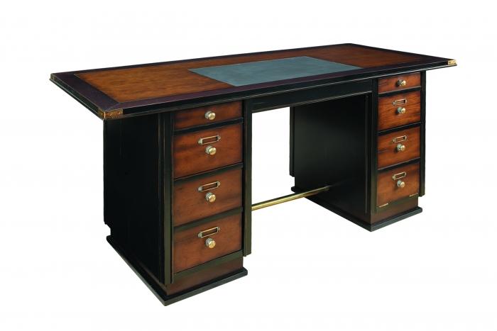 exklusiver schreibtisch seaman. Black Bedroom Furniture Sets. Home Design Ideas