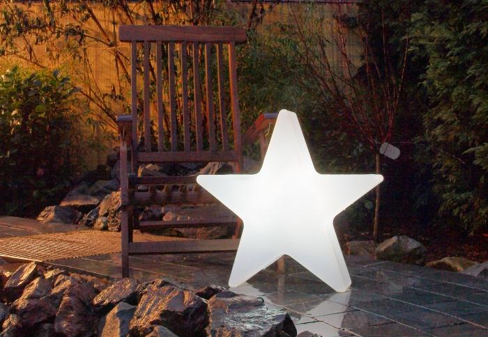lightstar exklusive dekoration stern beleuchtet. Black Bedroom Furniture Sets. Home Design Ideas