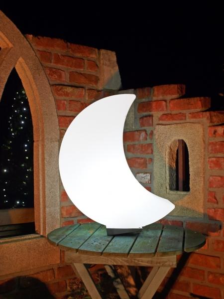 Light moon exklusive dekoration leuchtender mond - Exklusive gartendeko ...