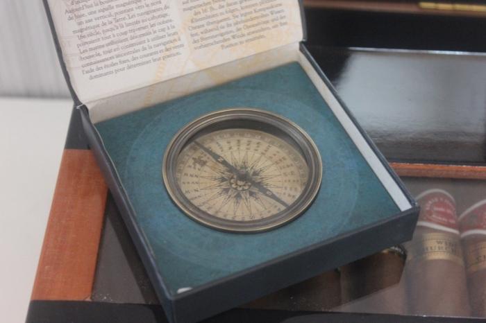 Kompass Antik / 17. Bis 18. Jahrhundert / Exklusive Dekoration