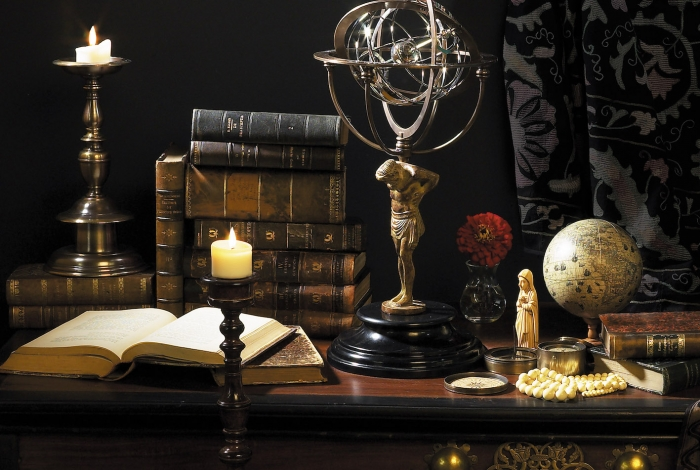 Atlas Armillary / Exklusive Dekoration