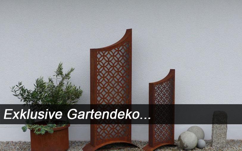 Exklusive gartendeko von tosch for Gartendeko modern